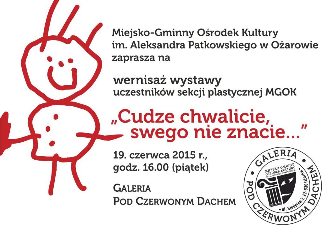 zaproszenie_cudze_chwalicie2015