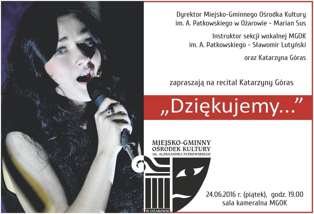 plakat_recital_Katarzyny_Gora_20160624
